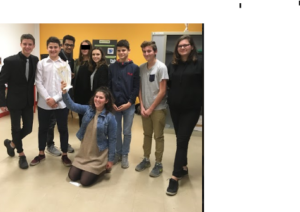 Prix Cybergénér@ctions les élèves de 2nd SPVL